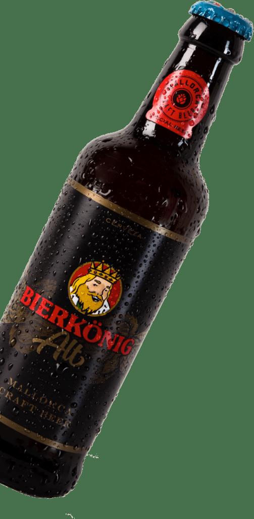 botella cerveza izquierda bierkonig